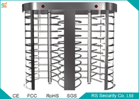 Prison Automatic Full Height Turnstiles Barrier With 90 Degree Rotation